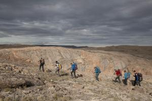 Greenland Caves Project 2019 Expedition. Copyright Robbie Shone
